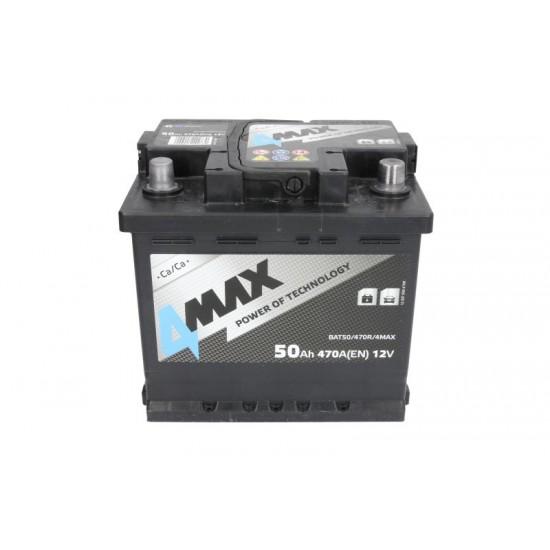 Стартов акумулатор 4MAX-50АH