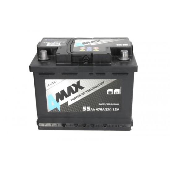 Стартов акумулатор 4MAX-55АH