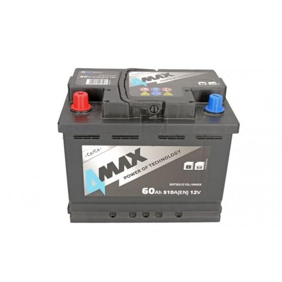 Стартов акумулатор 4MAX-60АH