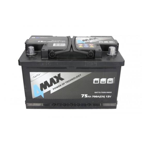 Стартов акумулатор 4MAX-75АH