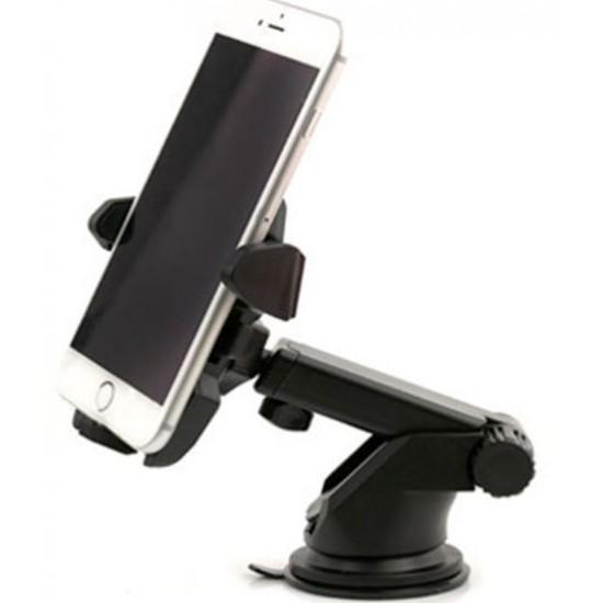 Постава за телефон със стойка - черна