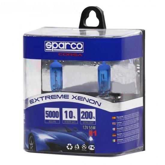 SPARCO THUNDER Авто Крушки H1 12V 55W 5000K
