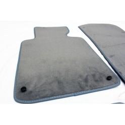 Мокетени стелки за БМВ 3 серия Е46 (1998-2005) сиви