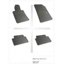 Гумени стелки за Пежо 508 (2011+)