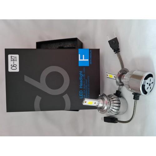 LED крушки за автомобил C6-H7, 36 W, 3800lm