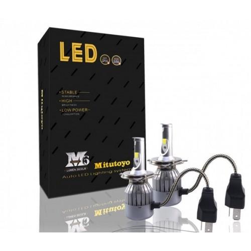 Mitutoyo LED диоден комплект - H4 - за къси и дълги светлини